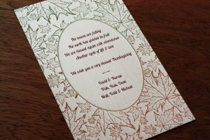 company greeting card