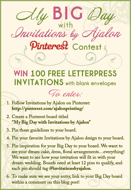 ajalon pinterest contest