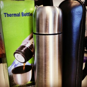 marketing and promotional double walled thermos
