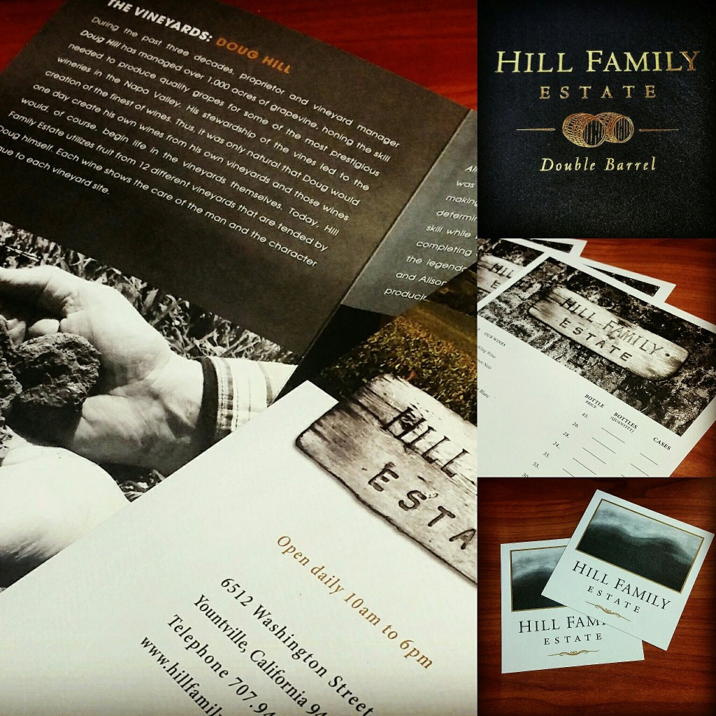 hill family estate printing foil and offset