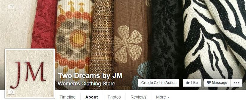 Two-Dreams-by-JM-custom-business-facebook-page