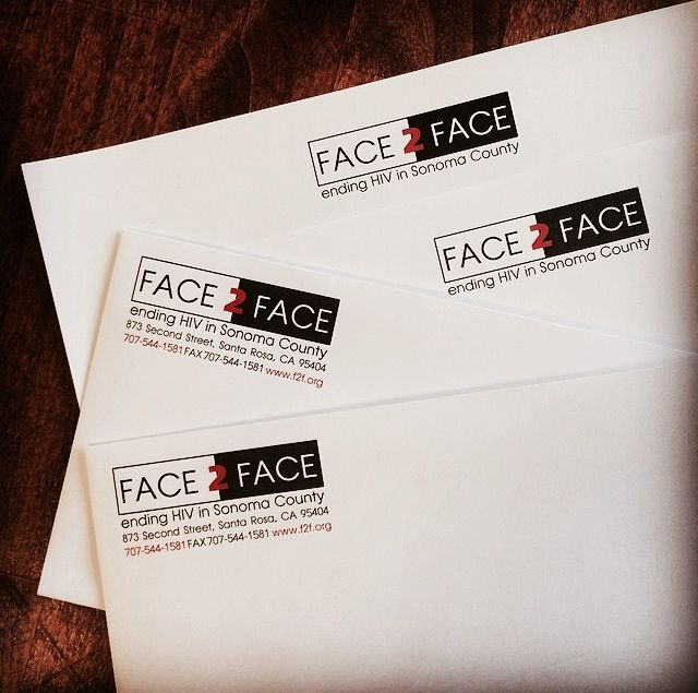 face-2-face-ending-HIV-in-Sonoma-County-business-envelopes-with-logo
