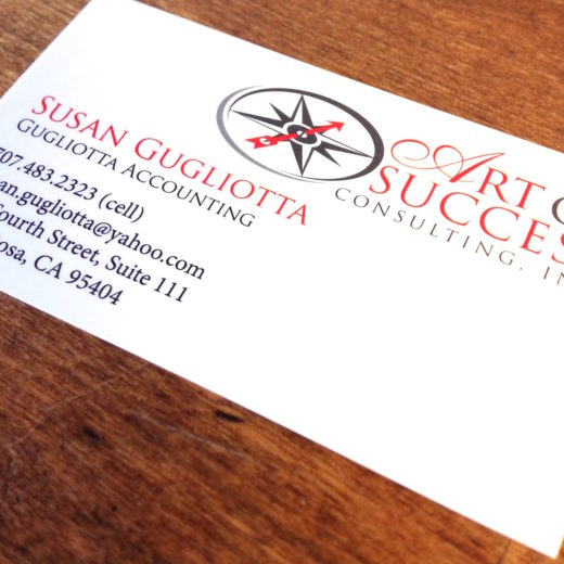 Client Focus: Art Of Success Consulting Inc.<br>Custom Printed Business Cards And Stationery