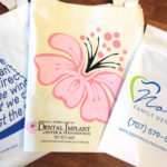 custom printed reusable tote bags