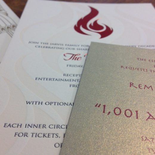 Custom Printed Invitations For Your Upcoming Business Event