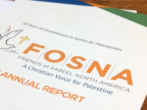 FOSNA custom printed annual report