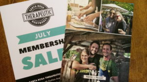 Digitally printed postcards for local Sonoma County Businesses