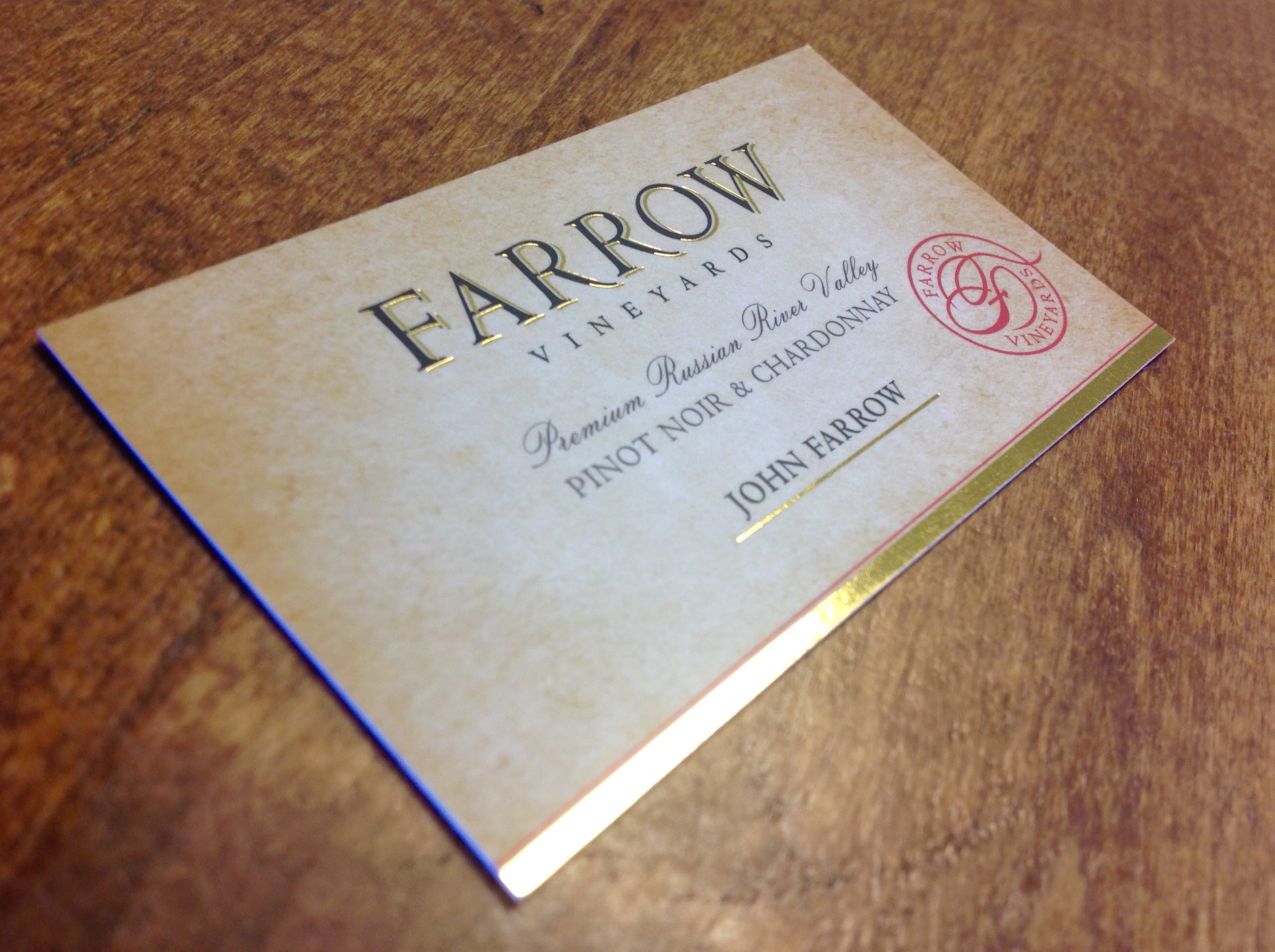 business cards | Ajalon Printing | Letterpress Printing Local ...